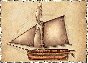 Тендеры — самые маленькие из военных кораблей. Их лёгкие пушки — не чета орудиям крупных военных кораблей, да и к тяжеловооружённым торговым судам им также лучше не приближаться. Их главное преимущество — отличная ходкость. Тендер прекрасно подходит для разведки. Несколько тендеров, собранных во флотилию, могут противостоять, например пиратской шебеке