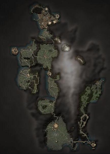 Готика 4 Карта мира.