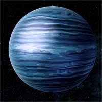 Алконост - стандартный ледяной гигант с метано-аммиачной атмосферой. У него необычно сильное магнитное поле, что оказалось удобным для кораблей, нуждающихся в сбросе заряда с двигателя.