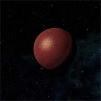 """Антиктра (""""расплавленный металл"""") получила свое название из-за впечатляющих кратеров. Планета богата оксидами железа, при этом ее постоянно бомбардируют астероиды из пояса, находящегося между ней и Венрумом. Железо плавится и выступает на поверхности, что выглядит необычно для любого наблюдателя. Именно из-за астероидной опасности посещение планеты считается опасным даже при использовании современных кинетических барьеров."""