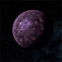 """Несмотря на то, что Берегала не является """"теплицей"""" вроде Венеры, едва ли она более гостеприимна. Находясь ближе других планет к звезде Тазале, она содержит большое количество радиоактивных элементов, что дополнительно ее разогревает и активизирует вулканические процессы"""