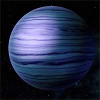 Цернунн - крупный газовый гиганте водородно-азотной атмосферой. Планета находится слишком близко к звезде системы, что позволяет предположить, что некогда она была захвачена ее гравитацией.