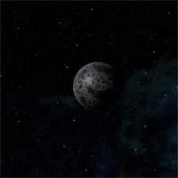 Поверхность Доргала представляет собой этановую кашу. Температура на планете близка к точке кипения углеводорода.