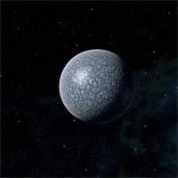 Дозорный находится на дальней границе небольшой системы звезды Мера. Это средних размеров планета, состоящая из льда и камня, которая притянула дюжину спутников. Атмосфера Дозорного состоит из азота и кислорода и слишком разрежена, чтобы поддерживать жизнь, а богатая кальцием кора покрыта толстым слоем льда. На нем все еще видны следы первой исследовательской экспедиции.