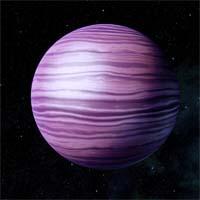 Элои, небольшой водородно-гелиевый гигант, сформировавшийся вокруг ядра из металлического водорода, в конце года станет местом редкого астрономического явления.