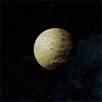 """Планета Флетт не пригодна для жизни большинства разумных существ, однако она неплохо подошла для тренировочной базы ворка из """"Кровавой стаи"""". Плотная атмосфера, практически полностью состоящая из азота и лишённая кислорода, вполне подходит для этой расы."""