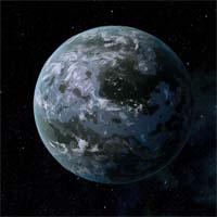 """Гелиме - планета разновидности """"мертвый сад"""", у которой когда-то была кислородно-азотная атмосфера, как у Земли."""