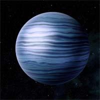 Иморкан, стандартный метано-аммиачный гигант, является основным источником гелия-3 для движущихся мимо Омеги кораблей.