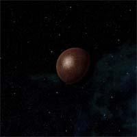 Исрафил, крупнейший из трио астероидов с ядром из нулевого элемента, чрезвычайно богат силикатами.