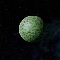 Атмосфера Кантры, землеподобной планеты среднего размера, состоит из азота и аргона. В замерзшей коре преимущественно присутствует олово с вкраплениями кальция. На планете нет ничего примечательного, кроме скоплений льда у полюсов.