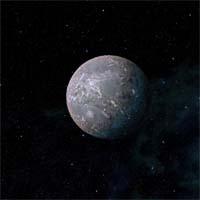 Кеймовитц назван в честь ученого 21 века, разработавшего инновационную методику очистки грунтовых вод. Планета покрыта внушительным слоем льда, глубоко под которым лежит ядро, преимущественно состоящее из камня и металла. Несмотря на размеры Кеймовитца, у него только один спутник, Ной, с похожим углеродным составом. Это наталкивает астрономов на мысль, что некогда они были единым целым и спутник откололся в результате сильного удара. Богатые запасы иридия делают планету весьма привлекательной для разработки, хотя из-за высокой гравитации возможно использование только управляемых на расстоянии роботов.