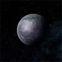 Клендагон - засушливая планета, обладающая большими размерами, чем Земля, но меньшей плотностью (из-за низкого содержания тяжелых элементов). Кора состоит из олова и алюминия, тонкий песок обширных пустынь легко поднимается в воздух ветром.