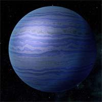 Неарог - водородно-метановый газовый гигант, на спутниках которого некогда размещалась армия Эссула, батарианского вождя, наводившего ужас на все системы Терминуса. Объединив пиратов под своими знаменами в единую армию, он успешно провел быструю атаку на 11 обитаемых планет. К счастью для остальной галактики, преступления Эссула привлекли внимание Спектров, которые отыскали его убежище и убили вождя.