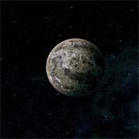 На покрытой замерзшим океаном планете Пацаев находится самая большая надпись, сделанная человеком