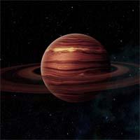 """Водородно-метановый газовый гигант Паулинг обладает гравитационным полем, которое, по одной из теорий, некогда практически уничтожило огромный пояс астероидов. В результате использования космического зонда """"Непревзойденный"""" (задание 2163), жители Уотсона получили подтверждения этой теории, узнав точное количество спутников (66), колец, спутникообразных колец и рассмотрев более 200 кратеров от ударов небесных тел на его поверхности. """"Непревзойденный"""" был переведен на другие задания в системе."""