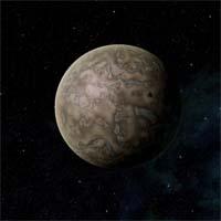 Переменный ток назван так потому, что он движется по обратной орбите. Это может означать, что некогда он был экзопланетой, притянутой гравитационным колодцем системы Релика. Переменный ток представляет собой крупную каменную планету с сильно разреженной атмосферой, в которой присутствуют слабые следы водорода. Ханарские разведывательные роботы нашли в его недрах некоторое количество урана и тория.