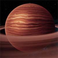 Рихали - типичный водородно-гелиевый газовый гигант. Ни один из спутников Рихали не крупнее 12 километров в диаметре, что является редкостью среди известных газовых гигантов галактики.