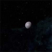 Синмара, спутник Суртура, много веков использовалась для наблюдений за звездой системы, Сольвейг.