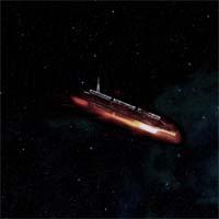"""Сканирование обнаружило на орбите планеты Йонус заброшенный корабль, который стремительно приближается к ее поверхности. Его сигнал совпадает с сигналами корабля """"Сломанная стрела"""". В декларации корабля указано, что он везет боеприпасы."""