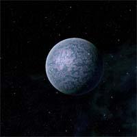 Суртур - маленькая пустынная планета, состоящая из очень плотных пород. Она расположена близко к звезде, из-за чего практически вся азотно-углеродная атмосфера планеты испарилась.