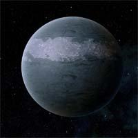 """Святилище подтверждает правоту расхожей поговорки старых космонавтов: """"От того, что планету называют садом, она приятнее не становится"""". Морозные ледяные бури постоянно возникают на полюсах и в зонах умеренного климата, благодаря чему для жизни пригодна лишь узкая полоса суши на экваторе. Здесь, на сухой, продуваемой сильными ветрами земле, сосредоточена не блещущая разнообразием флора Святилища. Появление жизни на суши еще впереди, хотя в пелагических морях планеты встречаются довольно большие беспозвоночные. Местную горнодобывающую промышленность называют не иначе как """"рубкой льда"""" во всех областях, кроме экватора. Это основной вид промышленности Святилища. Планета богата платиной и палладием. Также здесь добывают бор для пропитки полупроводников."""