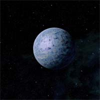 Тамгаута - самая дальняя и практически не исследованная планета системы Айзура. Двуокись углерода, из которого состояла ее атмосфера, давно смерзлась в огромные поля сухого льда.