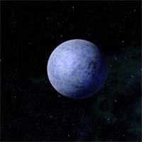 Теган закрывает трио планет этой системы, исследованных только при помощи зондирования. Этот замерзший шар с существенным содержанием олова в коре удерживает лишь тонкую атмосферу из углекислого и угарного газов