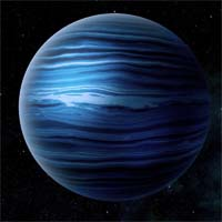 У Узин, типичного метано-аммиачного ледяного гиганта, есть 37 спутников различного размера. Читесс, один из крупнейших, вращается по обратной орбите, что указывает на то, что когда-то он был странствующей планетой, захваченной гравитационным полем газового гиганта.