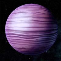 Виореса, холодная планета с синодическим периодом приблизительно в две тысячи лет, была пропущена азари при первоначальном изучении системы. Только волусы, пославшие разведывательную партию за минералами Каналуса, заметили движение среди звезд.