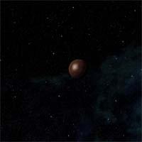 Волков - карликовая планета с толстой атмосферой из азота и криптона, на которой ведется добыча иридия
