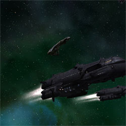 Nexus: The Jupiter Incident. Spaceships Gorgov.
