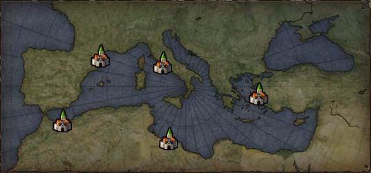 Карта экспедиций