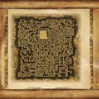 Ветхий свиток, карта лабиринта