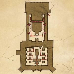 Два мира 2. Карта прохождения путей стражей.